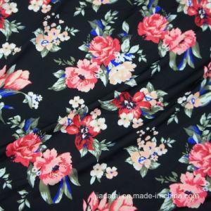 China High Elastic Acid Digital Print Spandex 14 Nylon 86 Floral