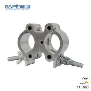 Aluminium Single Couplers Truss Scaffold Fitting Scaffolding Clamp 50mm Aluminium Alloy Coupler