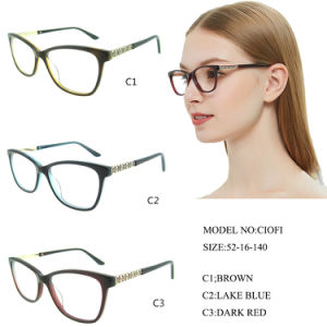20b820625d40 China Good Quality New Professional Acetate Eyewear Glasses Ce FDA ...