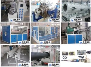 CE/SGS/ISO9001 PE Pipe Production Line (SJ) pictures & photos