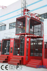 4 Tons Passenger and Material Building Hoist / Construction Elevator with CE Approved pictures & photos