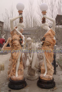 Garden Carving Stone Lantern Statue with Marble Sculpture (SY-C1063) pictures & photos