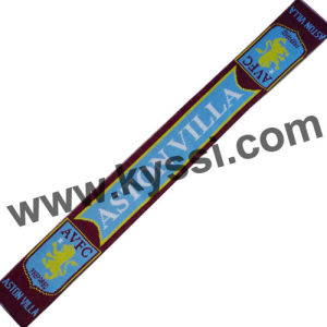 F. A. Premier League Soccer Team Scarf-Aston Villa
