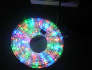 LED Rope Light (2 Wire Multicolor) pictures & photos