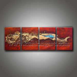 Modern Textured Art Painting for Home Decoration (KLMA4-0012)