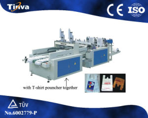 Automatic Plastuc Shopping Bag Making Machinery pictures & photos