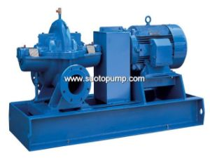 Single Stage Double Suction Pump pictures & photos