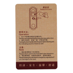 RFID Hotel Card With T5577 Chip