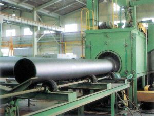 Steel Pipe Inner and Outer Special Shot Blasting Machine (QGW100, QGW720)