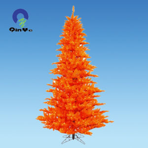 Orange Rigid Recycled PVC Sheet for Christmas Tree Leaves pictures & photos