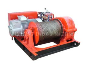 Building Electric Windlass with Steel Wire Rope for Pulling and Lifitng (JK5) pictures & photos