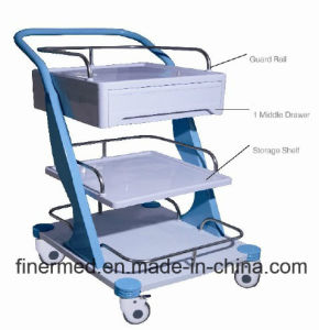 Clinic Medical Equipment Trolley pictures & photos