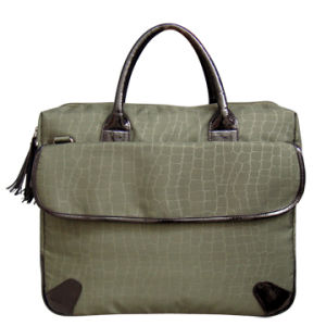 Briefcase Stone Pattern Casual Polyester Laptop Computer Bag for Business Outdoor pictures & photos