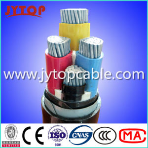 Aluminum Cable 4X95mm2 PVC Insualted and Sheath Cable pictures & photos