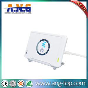 Portable 13.56MHz USB RFID Reader for IC Card pictures & photos