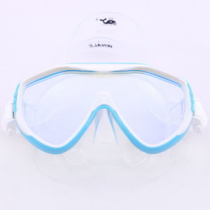 2016 Mirror Tempered Glass Diving Goggles (mm-104) pictures & photos