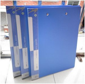Blue PP Folder for Office. Business A4 Folders Promotion