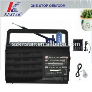 Solar Radio With MP3 Player Fp 1372u Ls