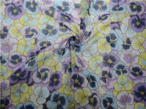 New Products Custom Digital Printed Rami Cotton Fabric (DSC-4144) pictures & photos