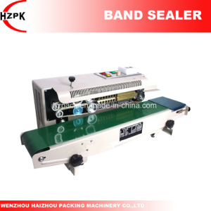 Fr-980 Automatic Continuous Band Sealer Band Sealing Machine with Solid-Ink Coding From China pictures & photos