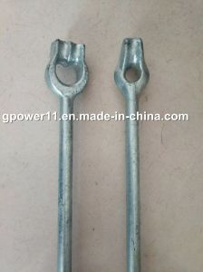 Forged Thimble Eye Anchor Rod Earth Screw Anchor Rod pictures & photos