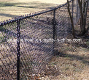 PVC Coated & Hot DIP Galvanized Welded Wire Mesh Chain Link Fence for Playground