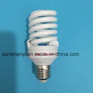 24W 26W Full Spiral 3000h/6000h/8000h 2700k-7500k E27/B22 220-240V Energy Saving Light Bulb pictures & photos