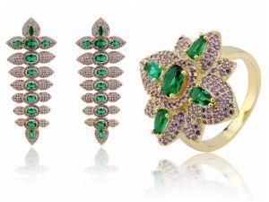 Micro Pave Brazilian Gold Jewelry Whole