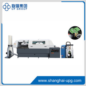 Pur Ellipse Adhesive-Binding Machine (LQBT50-4D PUR) pictures & photos