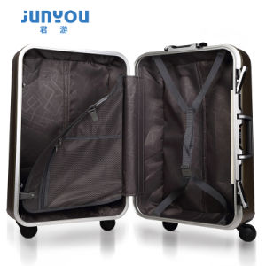 Latest Design High Quality Trolley Suitcase ABS+PC Luggage pictures & photos