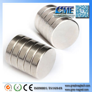 10mm Neodymium Magnets NdFeB N45 Nickel Magnetic pictures & photos