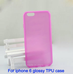 Small MOQ Custom Own Design Transparent Phone Case for iPhone 6 and for Samsung pictures & photos