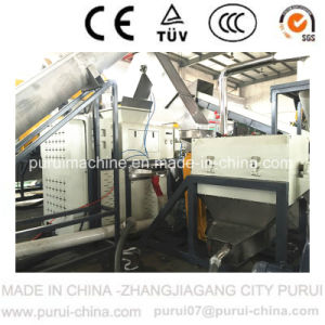 High Efficiency Waste Plastic Bottle HDPE Washing Machine pictures & photos