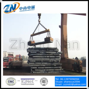 Square Lifting Electro Magnet for Steel Billet Lifting MW22-14080L/1 pictures & photos
