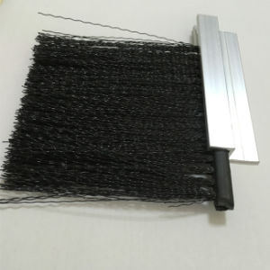 High Quality Nylon Weather Strip Brush Door Sweeper Brushes with Metal Channel pictures & photos