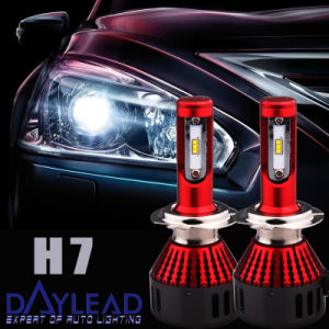 Universal Single Beam H7 96W Headlight Head Lamp for Automobile