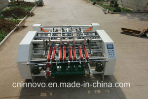 Semi Automatic Corrugated Board Folder Gluer pictures & photos