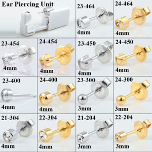 China Disposable Sterile Ear Piercing Unit Cartilage Tragus Helix