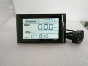 S900 Electric Bike Meter and Electric LCD Display with Ce pictures & photos