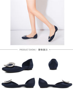 Womens Platform Stiletto Ladies Silk High Heel Sandal Leather Shoes pictures & photos