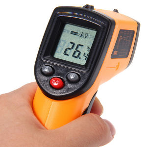 GM320 Digital Infrared Thermometer Non Contact Infrared Thermometer IR Laser Point Gun -50~330 Degree pictures & photos