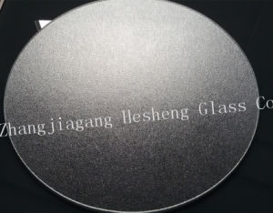 5mm Clear Round Nashiji Tempered Glass