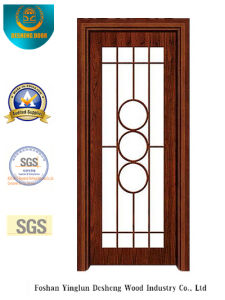Chinese Style Steel Door for Kitchen or Study (s-1025) pictures & photos