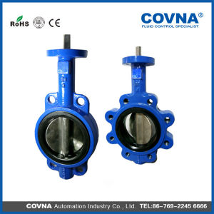 Hard-Seal Manual Butterfly Valve Body