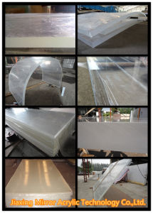 Various Clear Acrylic Wall Sheet