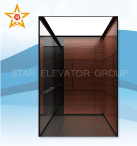 Laminated Steel (Wood grain) Passenger Lift Xr-P64