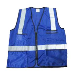 High Visibility Reflective Clothes Vest with Zipper and Pocket (UF252W) pictures & photos
