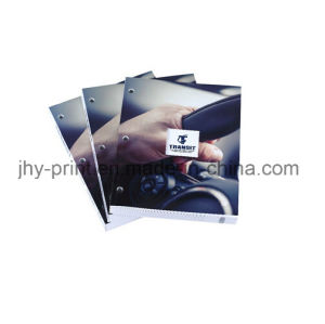 Perfect Binding High Qaulity with Punch Hole Catalog Printing Service (jhy-336)