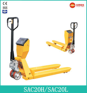2t Hydraulic Hand Pallet Truck with Scale