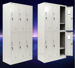 6 Door Metal Storage Armoire Wardrobe Online
